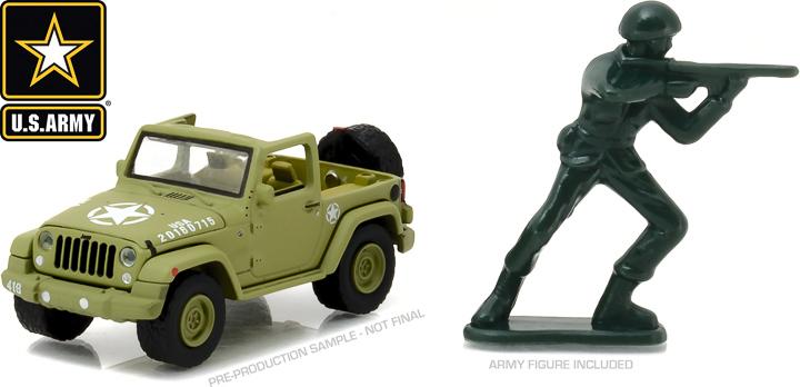 29884 - 1:64 2016 Jeep Wrangler - 2016 Jeep Wrangler