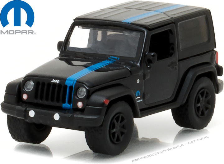 29886 - 1:64 2010 Jeep Wrangler MOPAR Edition
