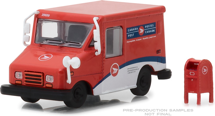1:64 Canada Post Long-Life Postal Delivery Vehicle (LLV) with Mailbox Accessory