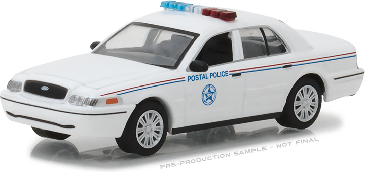 29891 - 1:64 2010 Ford Crown Victoria Police Interceptor United States Postal Service (USPS)