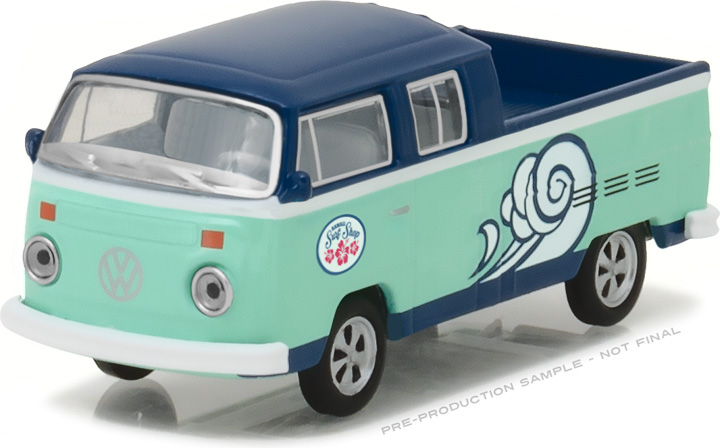 1:64 Volkswagen Type 2 Double Cab Pick-Up