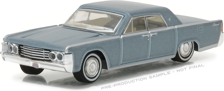 29895 - 1:64 1965 Lincoln Continental - Madison Gray Metallic