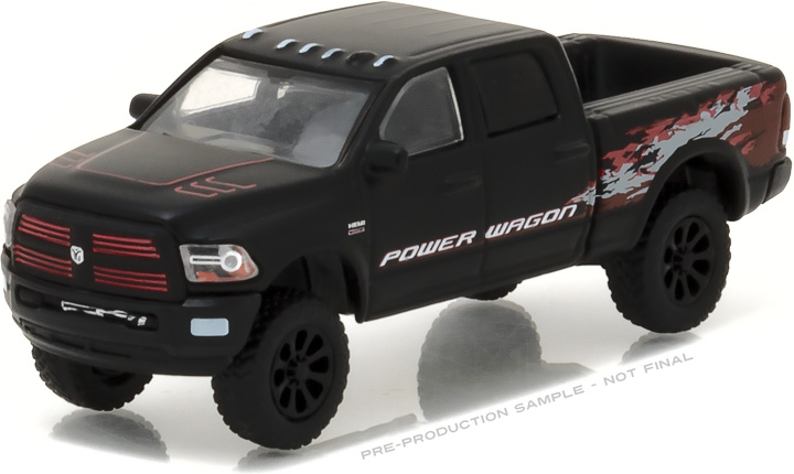 29901 - 1:64 2016 Ram 2500 Power Wagon - Matte Black
