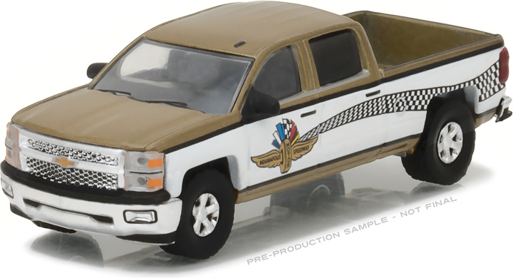 29902 - 1:64 Chevy Silverado Indianapolis Motor Speedway Wheel, Wings & Flag