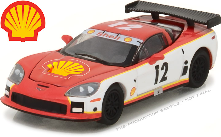 29907 - 1:64 2009 Chevy Corvette C6.R Shell Oil