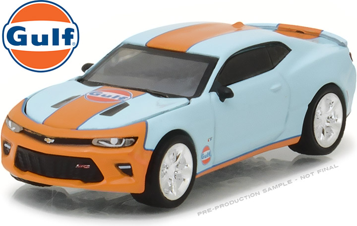 29908 - 1:64 2017 Chevy Camaro Gulf Oil