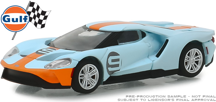 29909 - 1:64 2019 Ford GT - Ford GT Heritage Edition - #9 Gulf Racing