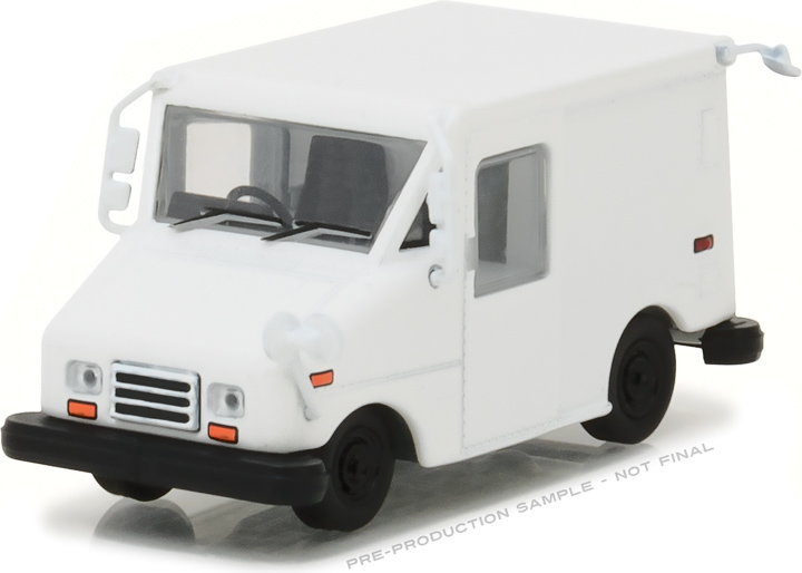 29911 - 1-64 Long-Life Postal Delivery Vehicle (LLV) - Plain White
