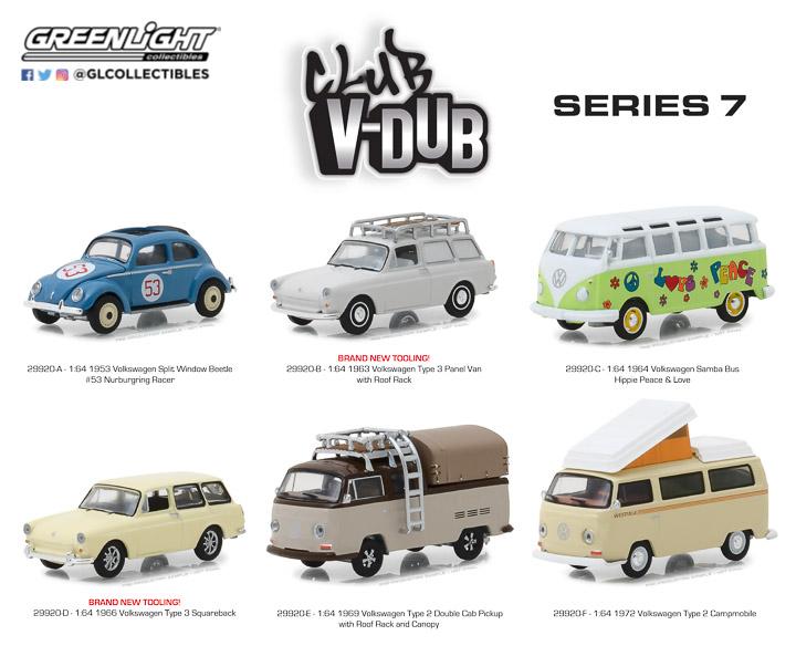 29920 - 1:64 Club Vee-Dub Series 7