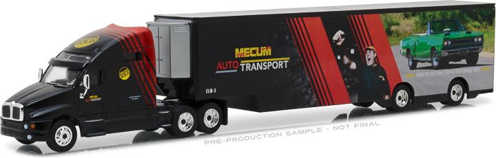 29928 - 1:64 2017 Kenworth T2000 Mecum Auctions 'Mecum Auto Transport' Transporter