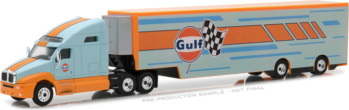 29929 - 1:64 2017 Kenworth T2000 Gulf Oil Racing Transporter