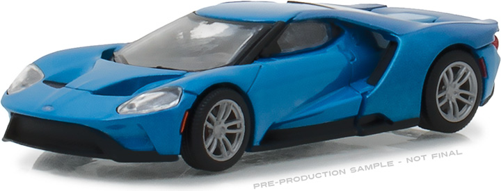 29933 - 1:64 2017 Ford GT - Blue