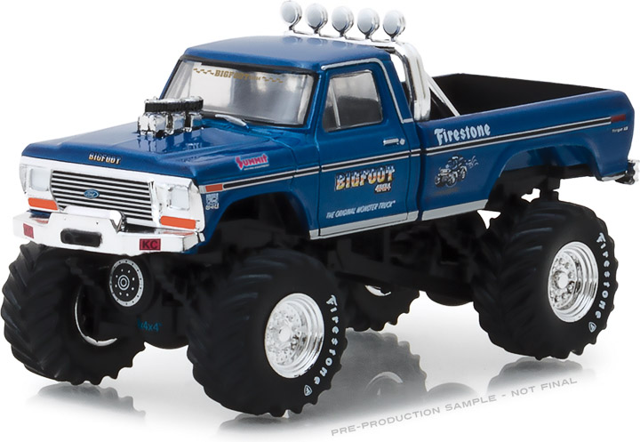 29934 - 1:64 Bigfoot #1 The Original Monster Truck (1979) 1974 Ford F-250 Monster Truck