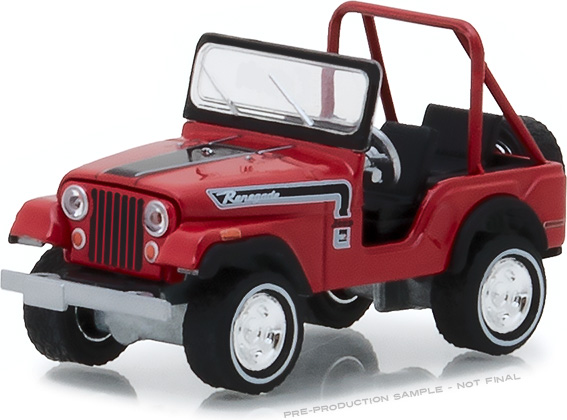 "1:64 1974 Jeep CJ-5 Renegade ""The Great Escape"" Advertisement Car"