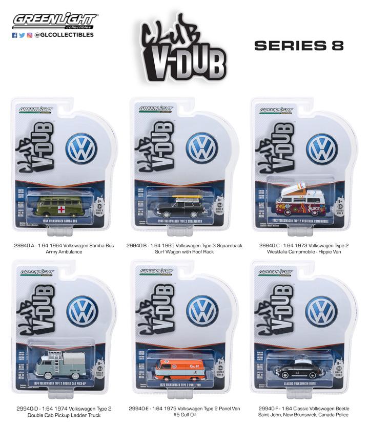 29940 - 1:64 Club Vee-Dub Series 8