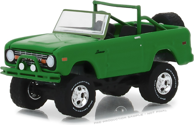 "1:64 BFGoodrich Vintage Ad Cars - 1971 Ford Bronco ""Take Control"""