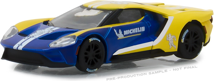 1:64 2017 Ford GT - Michelin Tires