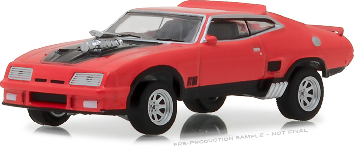 29946 - 1:64 1973 Ford Falcon XB Custom - Red Pepper with Black Stripes