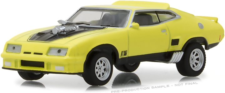 29947 - 1:64 1973 Ford Falcon XB Custom - Yellow Blaze with Black Stripes