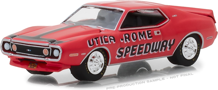 1:64 1972 AMC Javelin AMX Utica Rome Speedway Vernon, New York Official Pace Car