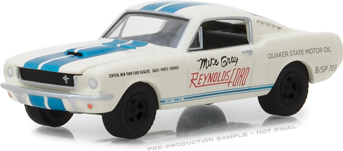 "1:64 1965 Shelby GT-350 - Reynolds Ford ""Super Horse"" driven by Mike Gray"
