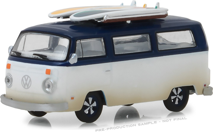 29956 - 1:64 1973 Volkswagen Type 2 (T2B) Van‏ with Surf Boards