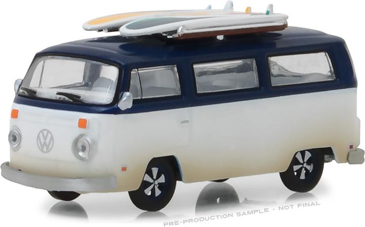 29956 - 1:64 1973 Volkswagen Type 2 (T2B) Van with Surf Boards