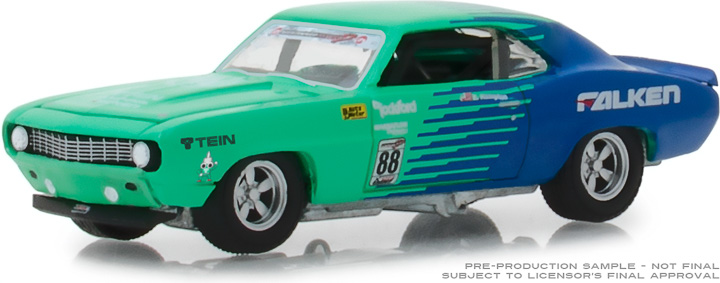 29959 - 1:64 1969 Chevy Camaro #88 - Falken Tires