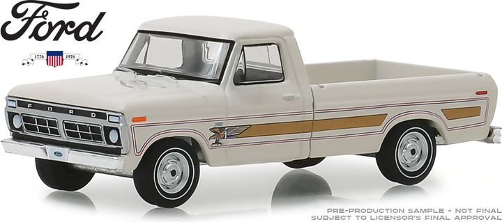 29965 - 1:64 1976 Ford F-100 Bicentennial Option Group - Wimbledon White