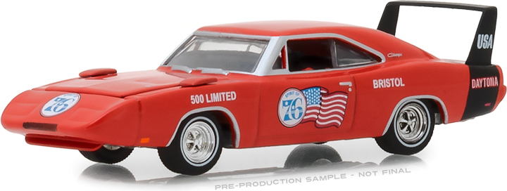 29969 - 1:64 1969 Dodge Charger Daytona - Spirit of 76 Bristol 500 Limited