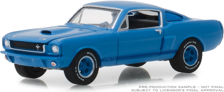 29975 - 1:64 BFGoodrich Vintage Ad Cars - 1966 Shelby GT350 The Best Dreams Are Partly Black & White