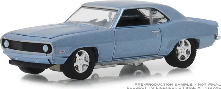 29976 - 1:64 BFGoodrich Vintage Ad Cars - 1969 Chevy Camaro Bowtie Pastya