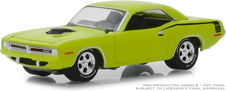 29977 - 1:64 BFGoodrich Vintage Ad Cars - 1970 Plymouth HEMI 'Cuda Amazing What You Can Do With A Tire Iron