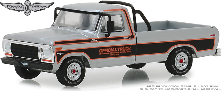 29979 - 1:64 1979 Ford F-100 63rd Annual Indianapolis 500 Mile Race Official Truck