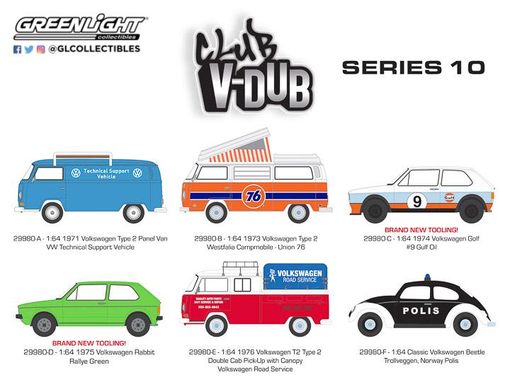 29980 - 1:64 Club Vee-Dub Series 10
