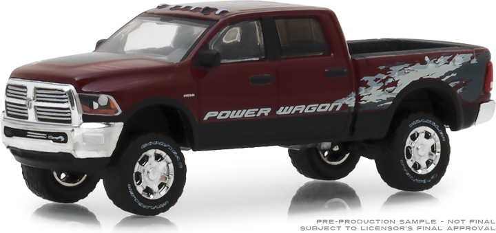 29981 - 1:64 2016 Ram 2500 Power Wagon - Delmonico Red Pearl