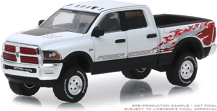 29982 - 1:64 2016 Ram 2500 Power Wagon - Bright White Clearcoat