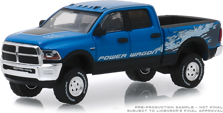 29983 - 1:64 2016 Ram 2500 Power Wagon - Blue Streak Pearlcoat