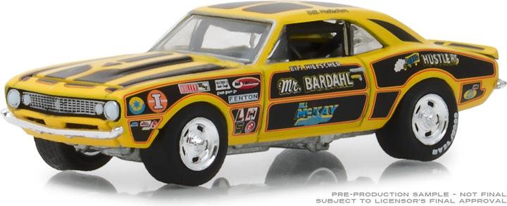 29987 - 1:64 Bardahl - 1967 Chevrolet Camaro 427 Mr. Bardahl II