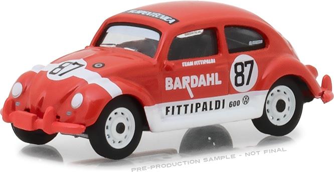 29988 - 1:64 Bardahl - 1967 Volkswagen Beetle Bardahl #87 Team Fittipaldi