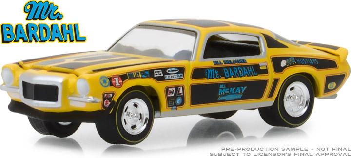 29989 - 1:64 Bardahl - 1970 Chevrolet Camaro Mr. Bardahl