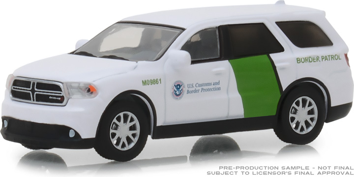 29994 - 1:64 2018 Dodge Durango - U.S. Customs and Border Protection Border Patrol