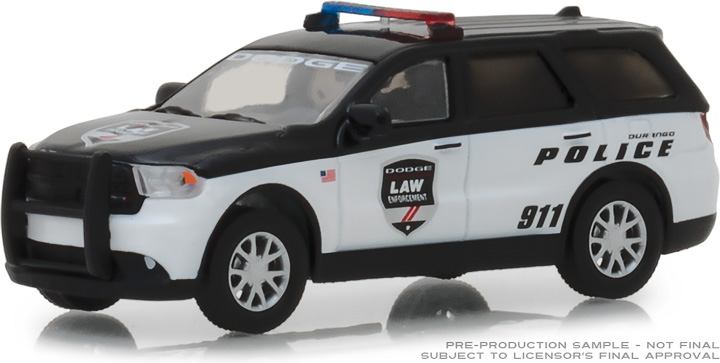 29995 - 1:64 2017 Dodge Durango Special Service Vehicle - Dodge Law Enforcement Durango Police