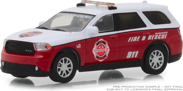 29996 - 1:64 2017 Dodge Durango Special Service Vehicle - Dodge Durango Fire & Rescue