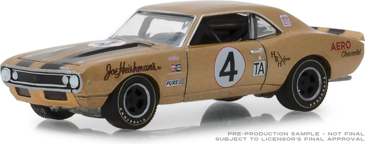 30001 - 1:64 1967 Chevrolet Camaro Z/28 #4 Aero Chevrolet The Very First 1967 Chevrolet Camaro Z/28