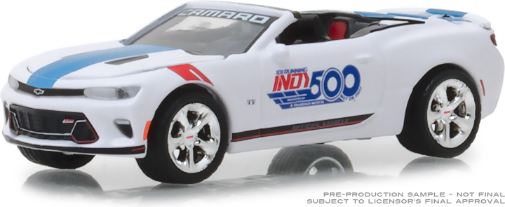 30003 - 1:64 2017 Chevrolet Camaro Convertible - 101 Running Indy 500 Presented by PennGrade Motor Oil 500 Festival Event Car