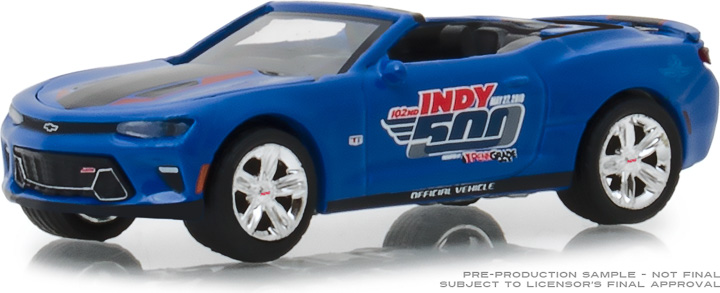 30004 - 1:64 2018 Chevrolet Camaro Convertible - 102nd Indy 500 Presented by PennGrade Motor Oil 500 Festival Event Car