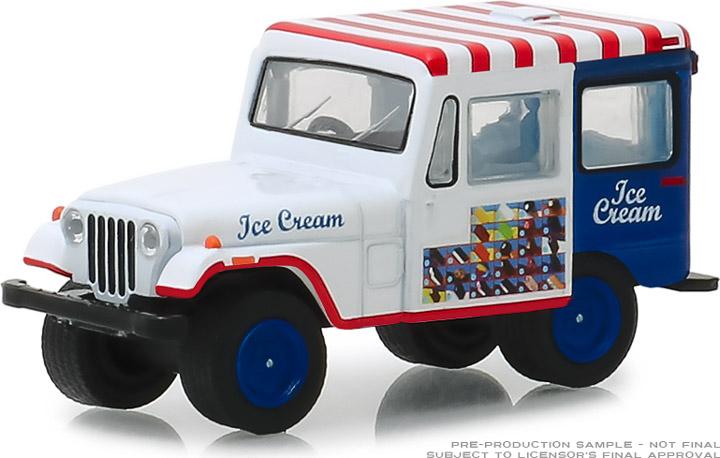 30005 - 1:64 1975 Jeep DJ-5 Ice Cream Truck