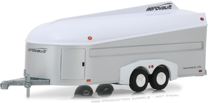 30008 - 1:64 Aerovault MKII Trailer - White and Silver