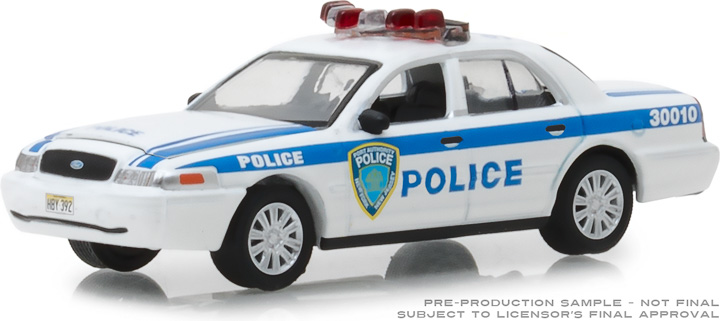 30010 - 1:64 2003 Ford Crown Victoria Police Port Authority of New York & New Jersey Police